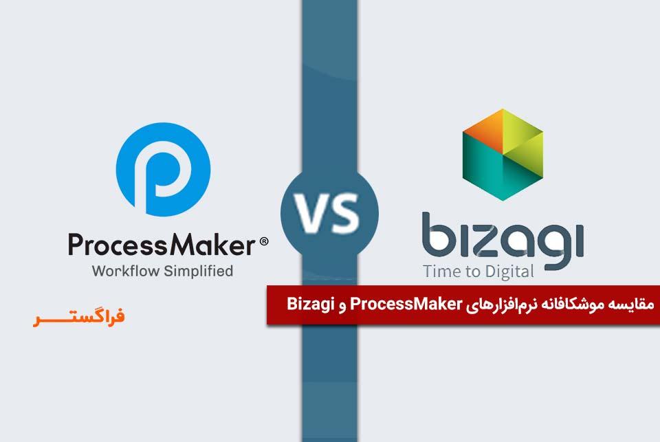 مقایسه نرمافزار ProcessMaker و Bizagi