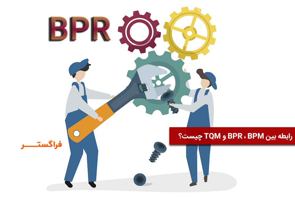 رابطه BPM BPR TQM